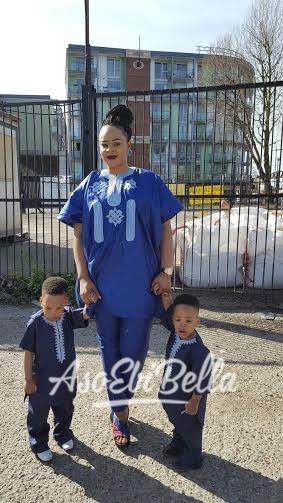 Eva Obaseki & Kids