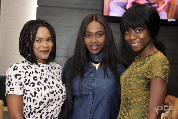 Evi Odafe, Ariyike Akinbobola and Oluchi Nsofor