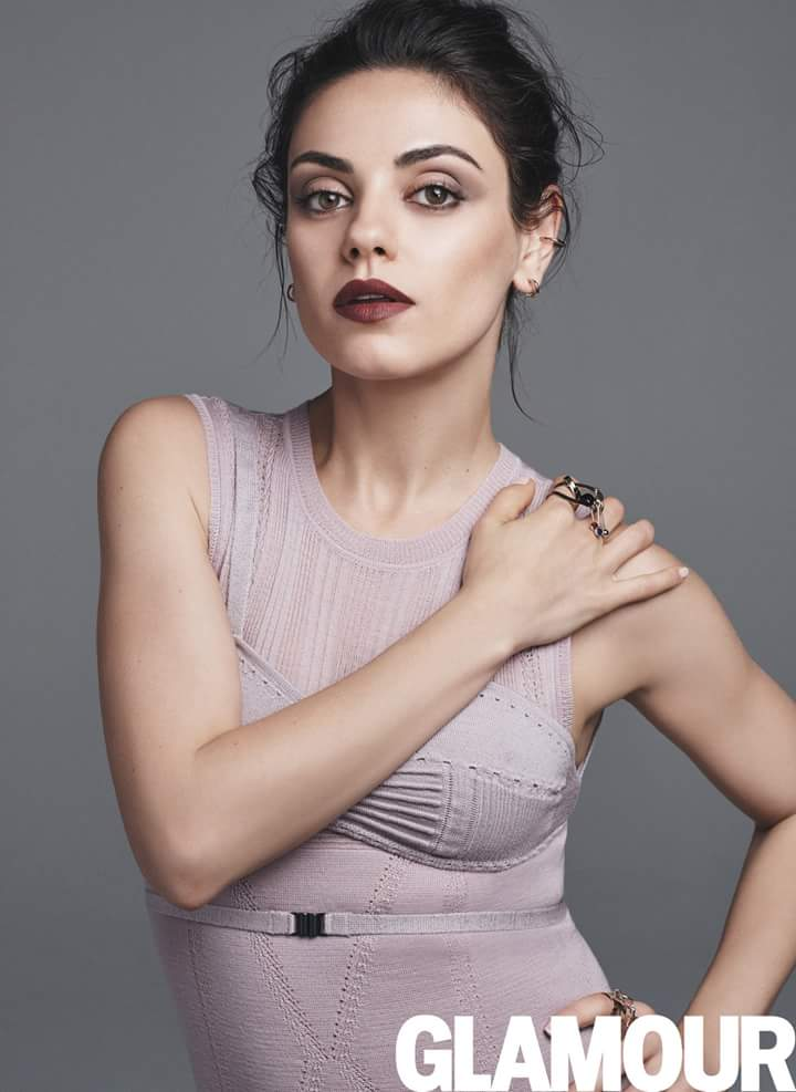 Mila Kunis for Glamour August 2016