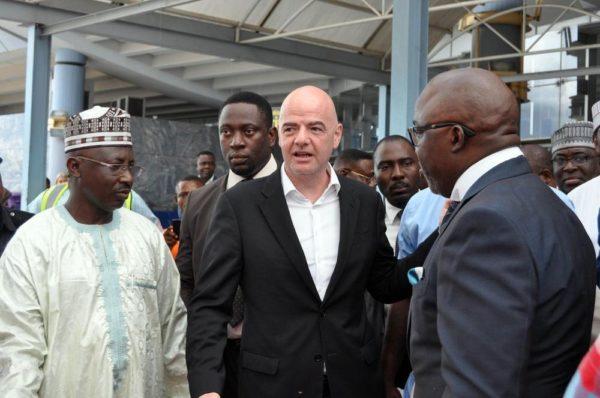 FIFA President and Gen Sec Visit Nigeria3
