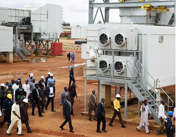 Fashola Insoects Kaduna Power Plant