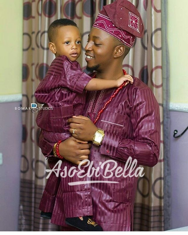 Father & Son Photography by @toluatoyebi of @bomakstudios