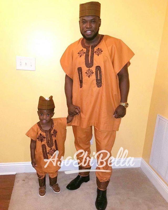 Father & son in @tyntyfashions_tntfashions