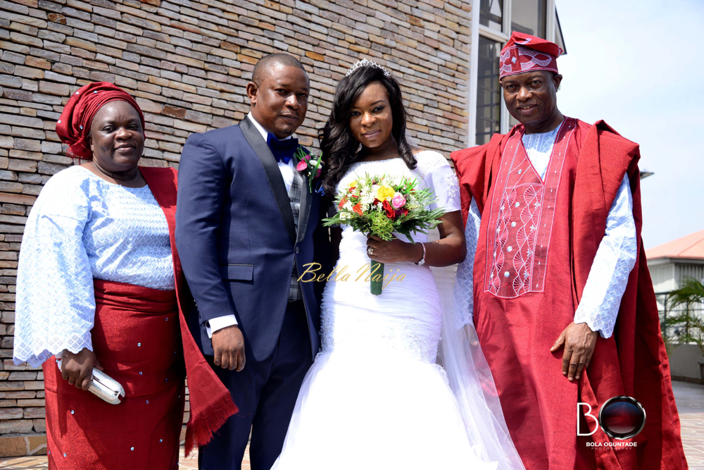 Couple with Bride's Parents
