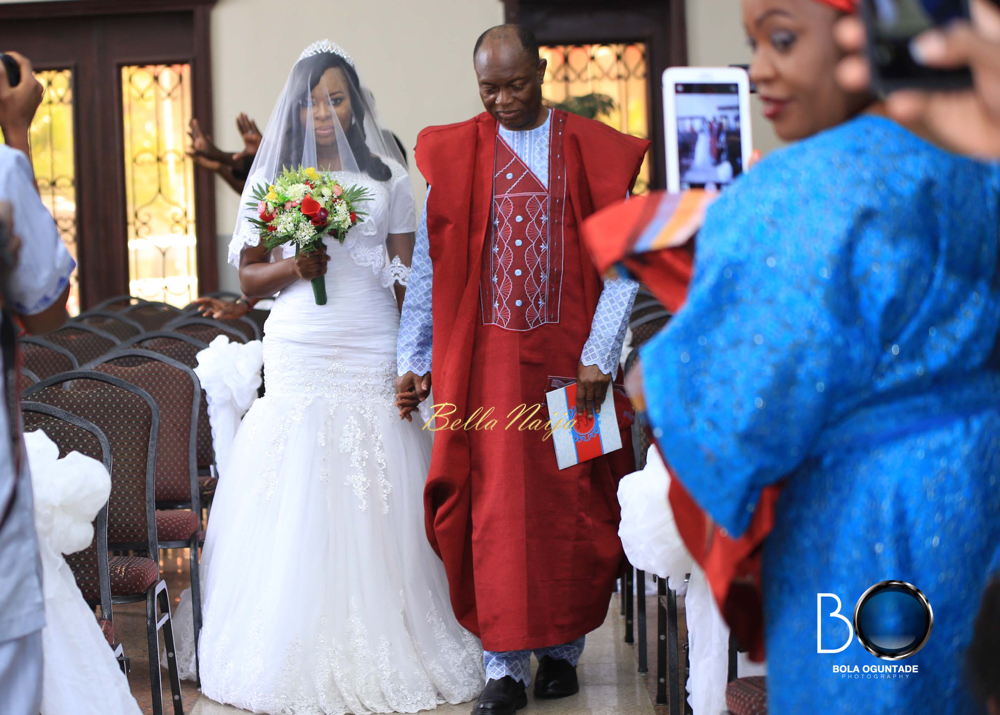 Foursquare Gospel Church General Overseer Rev. Felix Meduoye celebrates as daughter Kenny marries Tunde Ohenhen_IMG_9437