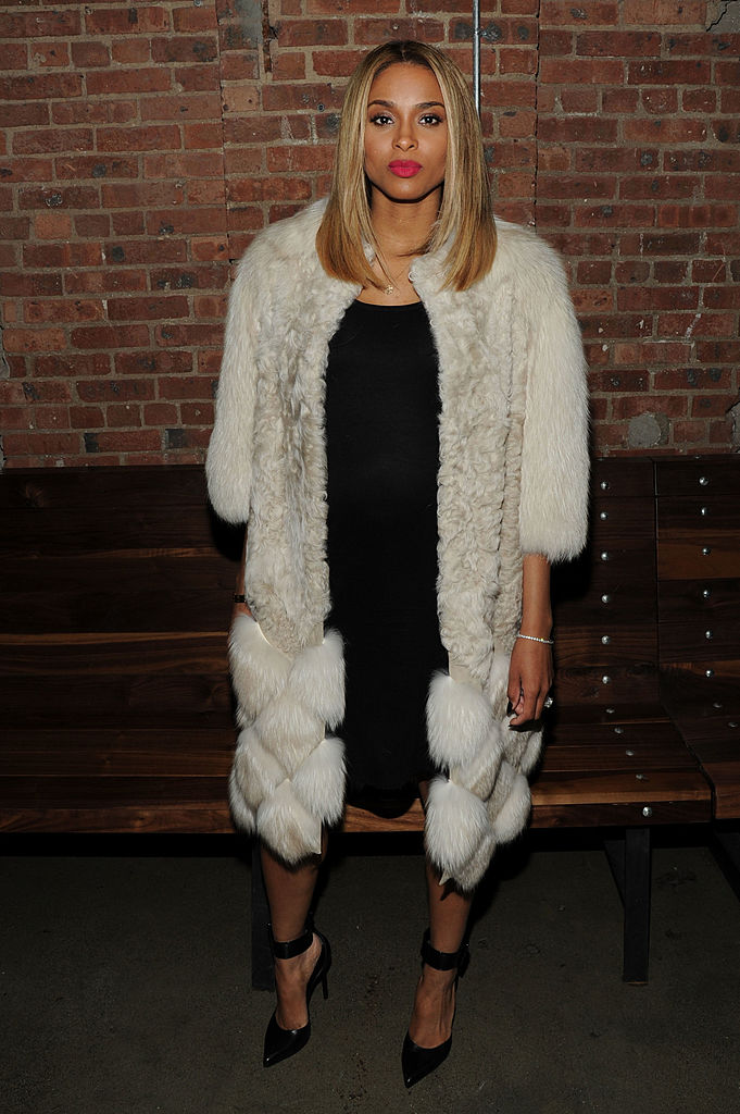 NEW YORK, NY - JANUARY 14: Singer Ciara attends the event celebrating the launch ofÊThe Fashion FundÊon Ovation at Toro on January 14, 2014 in New York City. (Photo by Bryan Bedder/Getty Images)