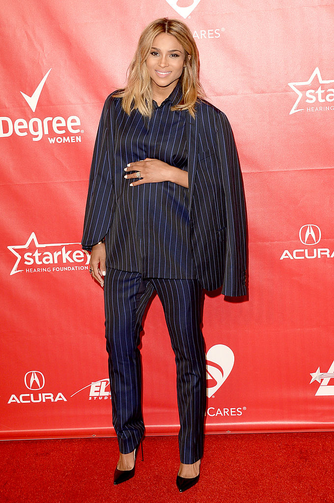 LOS ANGELES, CA - JANUARY 24: Singer Ciara attends The 2014 MusiCares Person Of The Year Gala Honoring Carole King at Los Angeles Convention Center on January 24, 2014 in Los Angeles, California. (Photo by Jason Merritt/Getty Images)