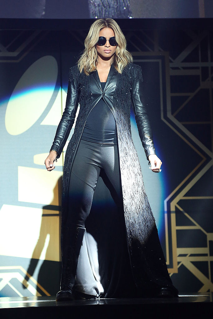 LOS ANGELES, CA - JANUARY 26: Ciara performs during the 56th GRAMMY Awards - Official GRAMMY Celebration afterparty at Los Angeles Convention Center on January 26, 2014 in Los Angeles, California. (Photo by Taylor Hill/Getty Images)