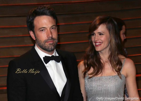 WEST HOLLYWOOD, CA - MARCH 02: Actor/director Ben Affleck (L) and wife actress Jennifer Garner attend the 2014 Vanity Fair Oscar Party hosted by Graydon Carter on March 2, 2014 in West Hollywood, California. (Photo by David Livingston/Getty Images)