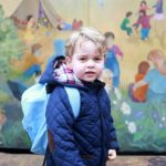 Prince George goes to Nursery School!