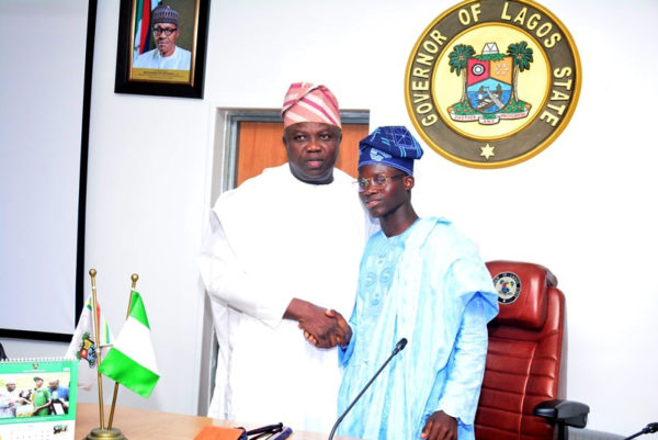 Governor Ambode Hosts One Day Gov and His Cabinet1