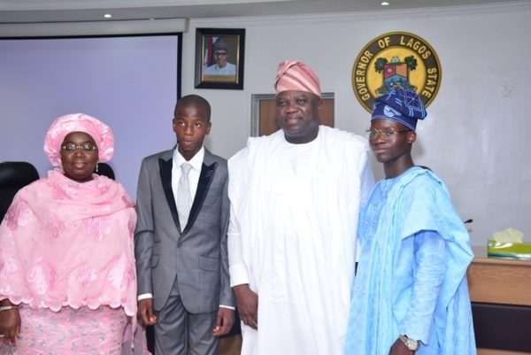 Governor Ambode Hosts One Day Gov and His Cabinet10