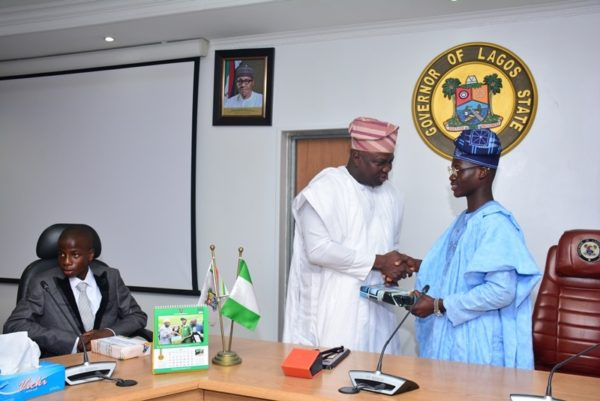 Governor Ambode Hosts One Day Gov and His Cabinet2