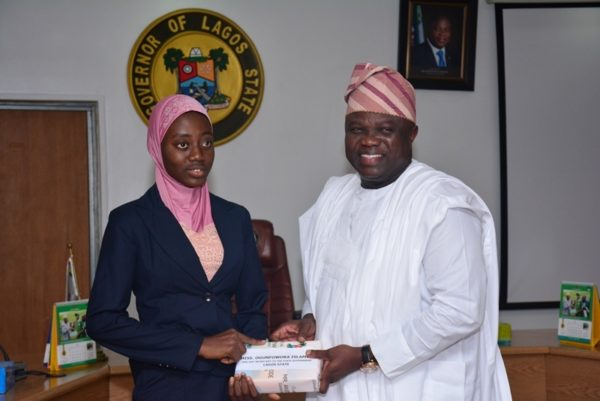 Governor Ambode Hosts One Day Gov and His Cabinet4