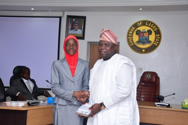 Governor Ambode Hosts One Day Gov and His Cabinet6