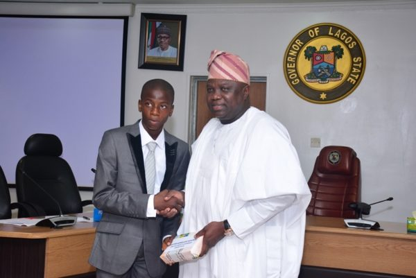Governor Ambode Hosts One Day Gov and His Cabinet7