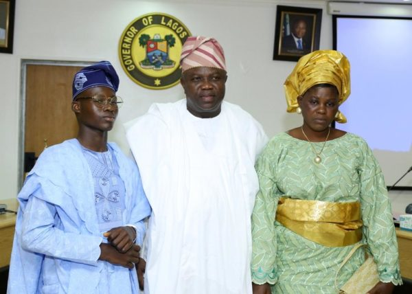 Governor Ambode Hosts One Day Gov and His Cabinet8