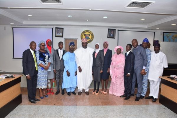 Governor Ambode Hosts One Day Gov and His Cabinet9