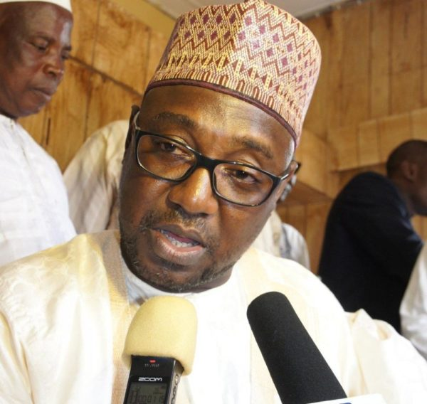 Governor Sani Bello of Niger State