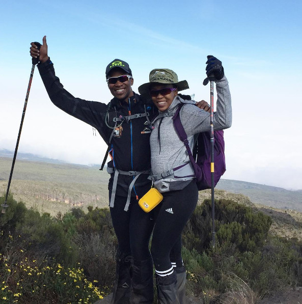 Gugu Zulu and Wife