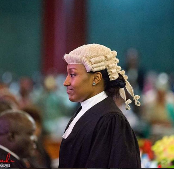 Halima Buhari Called to Bar1