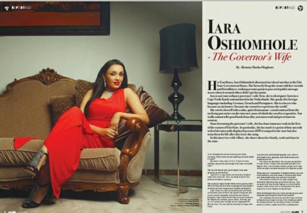 Iara Oshiomole (2)