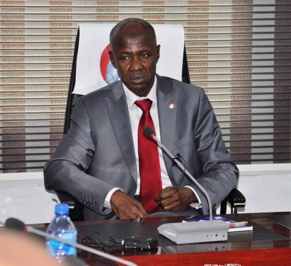 Magu Pledges Never to give up the Fight Against Corruption