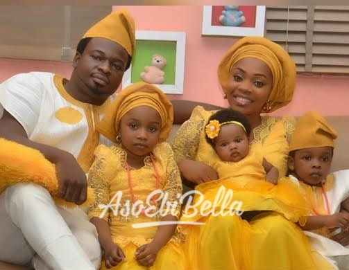 Ify Salau & family