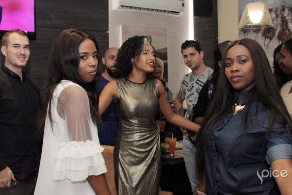 Jennifer Boyd, Elma Godwin, Ariyike Akinbobola and Guests