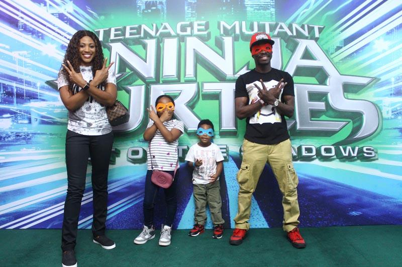 Julius agwu and family