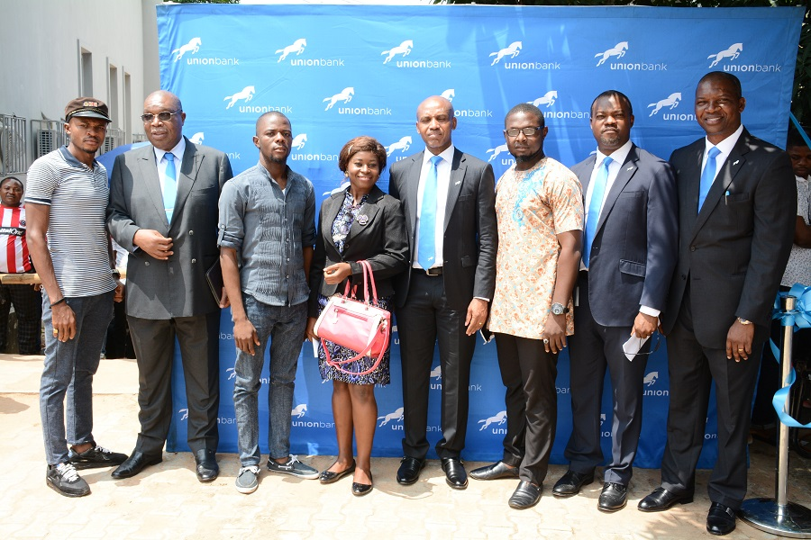 Kandolo Kasongo, Emeka Okonkwo, Vincent Eze, Joe Mbulu and Representatives of the Student Union, Federal Polytechnic Oko