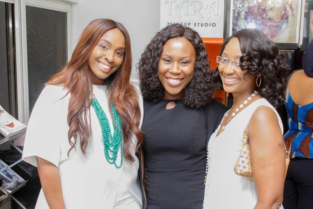 L – R Osayi Allie, Tara Fela-Durotoye and Bunmi Aboderin