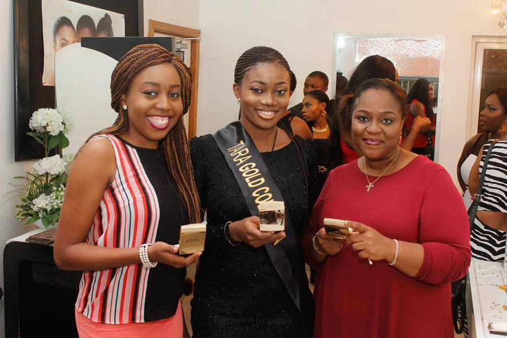 L – R Stephanie Obi, House of Tara Makeup Artist, Tundun Aderibigbe