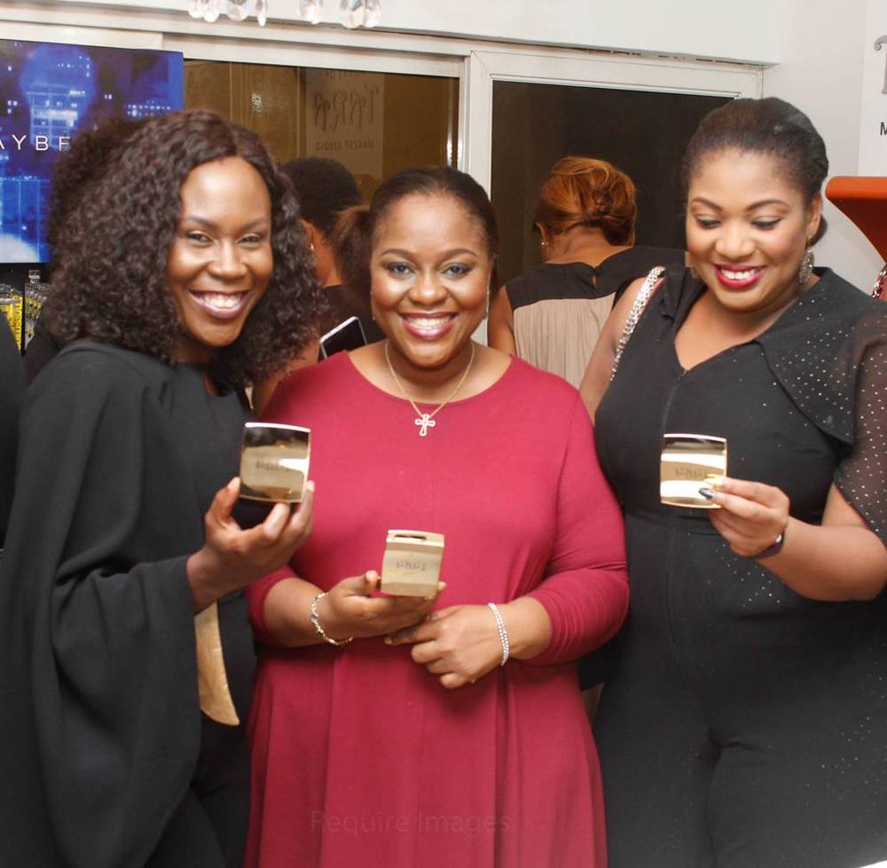 L – R Tara Fela-Durotoye (CEO House of Tara), Tundun Aderibigbe (Operations Director, House of Tara), Ada Iwugo (Commercial Director, House of Tara)