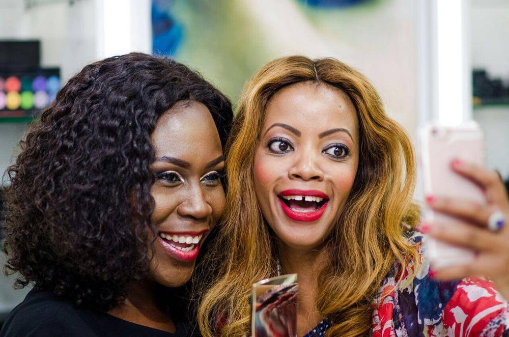 L – R Tara Fela-Durotoye and Mwamvita Makamba @ Abuja Launch