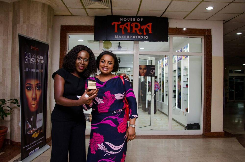 L – R Tara Fela Durotoye and Ronke Oyenuga at the Abuja Launch