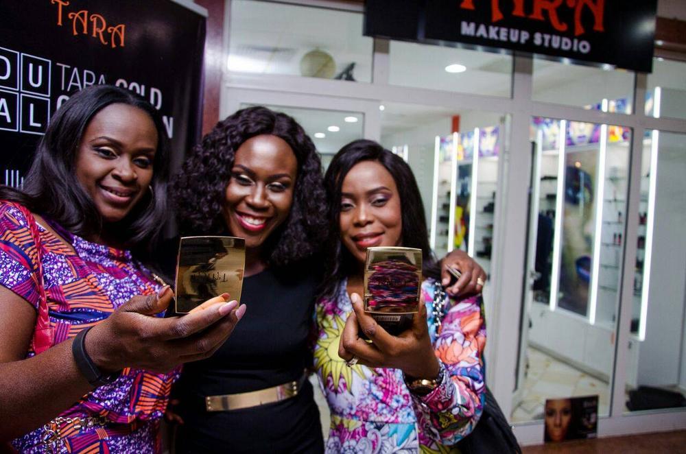 L – R Toju Briggs, Tara Fela Durotoye and Bola Adefila @ Abuja Launch