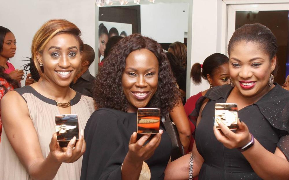 L – R Veronica Odeka, Tara Fela-Durotoye and Ada Iwugo
