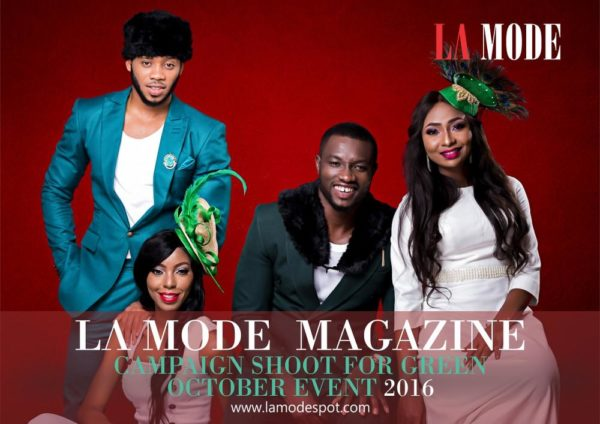 La Mode Magazine Green October Event Campaign Shoot (3)