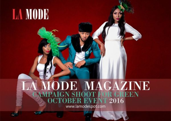 La Mode Magazine Green October Event Campaign Shoot (4)