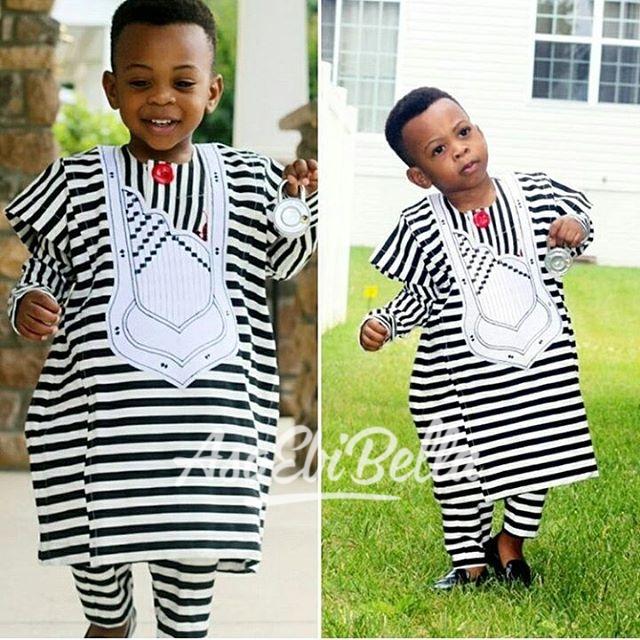 Lil prince in @tyntyfashions_tntfashions