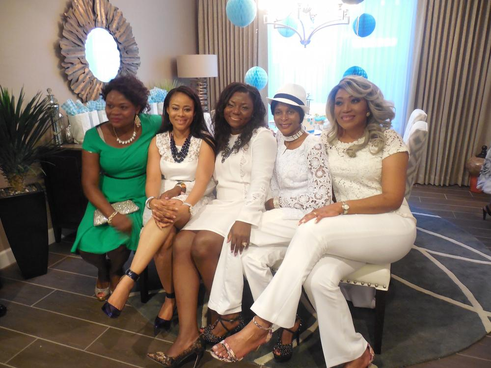 Lilian Esoro Ubi Franklin Baby Shower BellaNaija 12