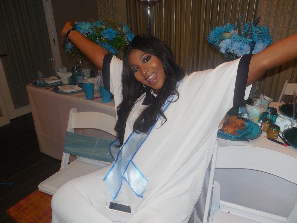 Lilian Esoro Ubi Franklin Baby Shower BellaNaija 18
