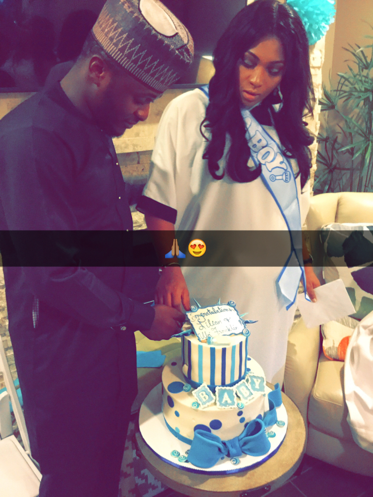 Lilian Esoro Ubi Franklin Baby Shower BellaNaija 20