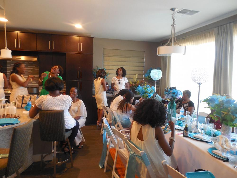 Lilian Esoro Ubi Franklin Baby Shower BellaNaija 8