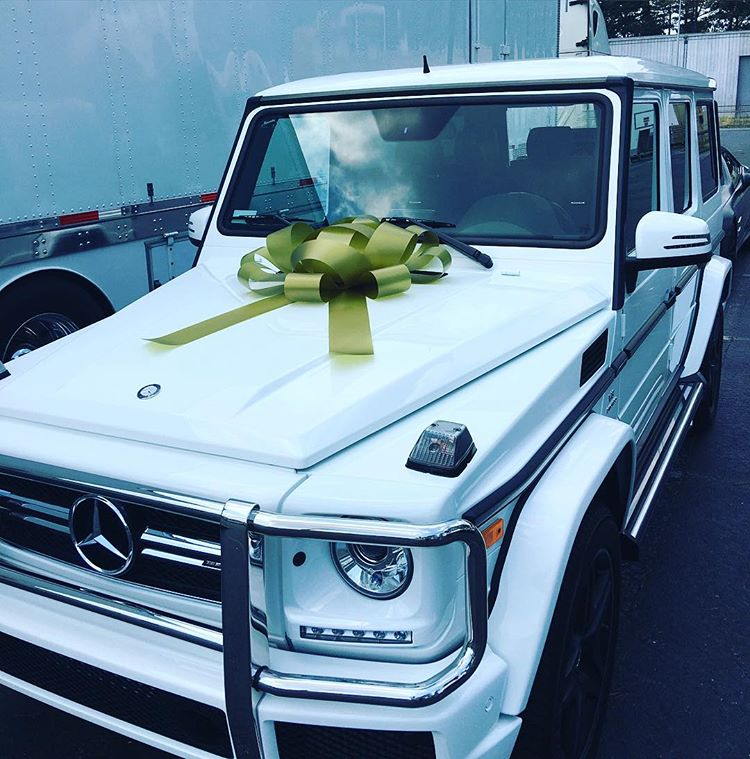 Ludacris Cars: Ludacris Gives His Wife Eudoxie A Surprise Mercedes-Benz G