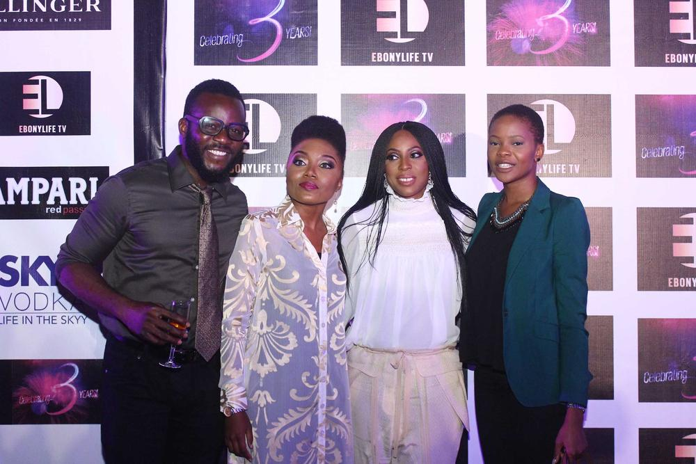 Mo Abudu and EL TEAM