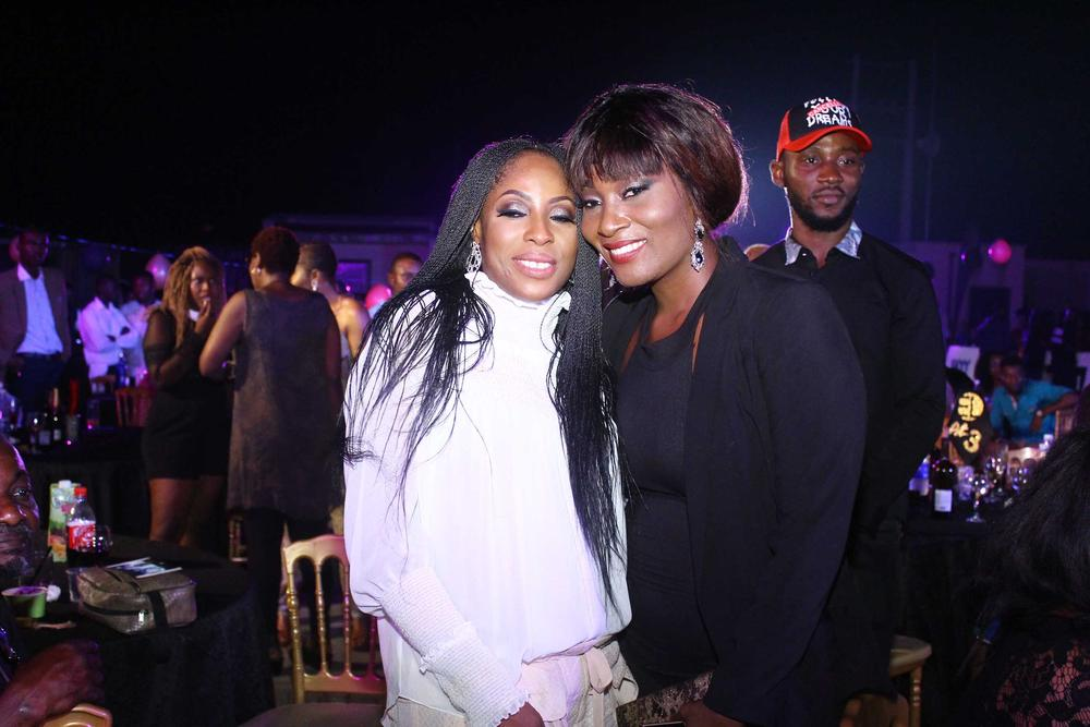 Mo Abudu and Ruby Gyang