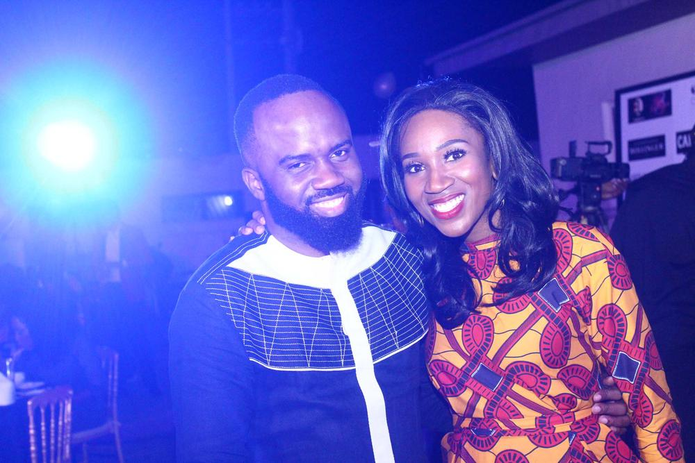 Noble Igwe and Eunice Omole