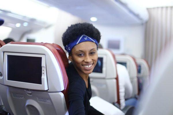 On the flight | Photo Credit: Kola Oshalusi